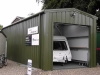8 NORWICH - Caravan storage service Caravan storage service workshop building 6060 - Drayton Caravan Park - Norfolk - OZ-UK Steel Buildings Ltd