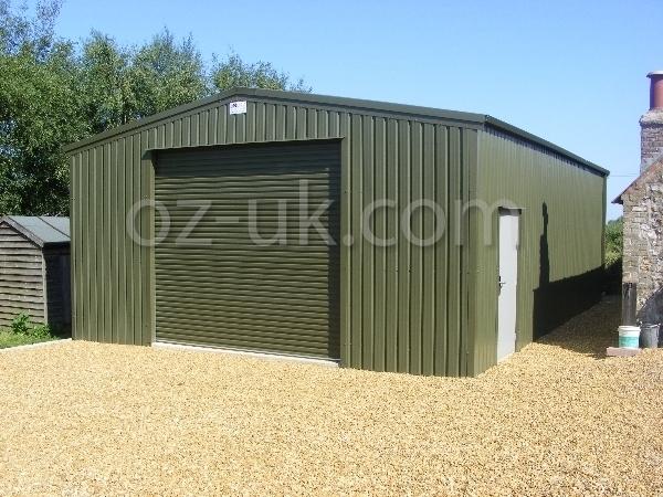 Metal Tractor Barns : Farm barns steel buildings agricultural