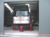 16 Shetland - Bus Service Station Workshop SS80 -  Robinson's Coach Company - Yell - Steel Buildings (Norfolk) Ltd