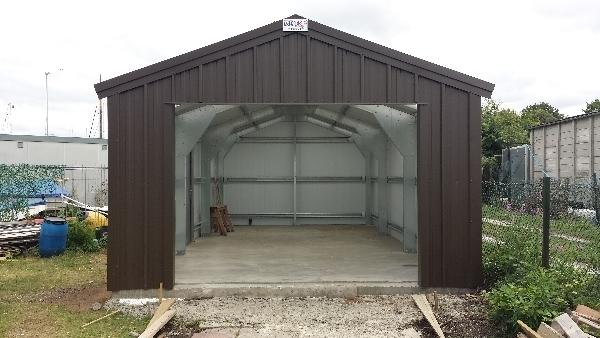 21 brilliant boat storage sheds for Canoe storage shed