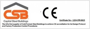 OZ-UK Steel Buildings CSB CE Mark