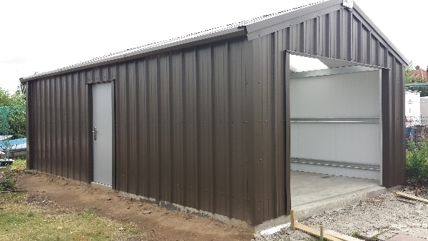 Shed Boat Storage Metal : Wells next the sea boat shed steel buildings oz uk