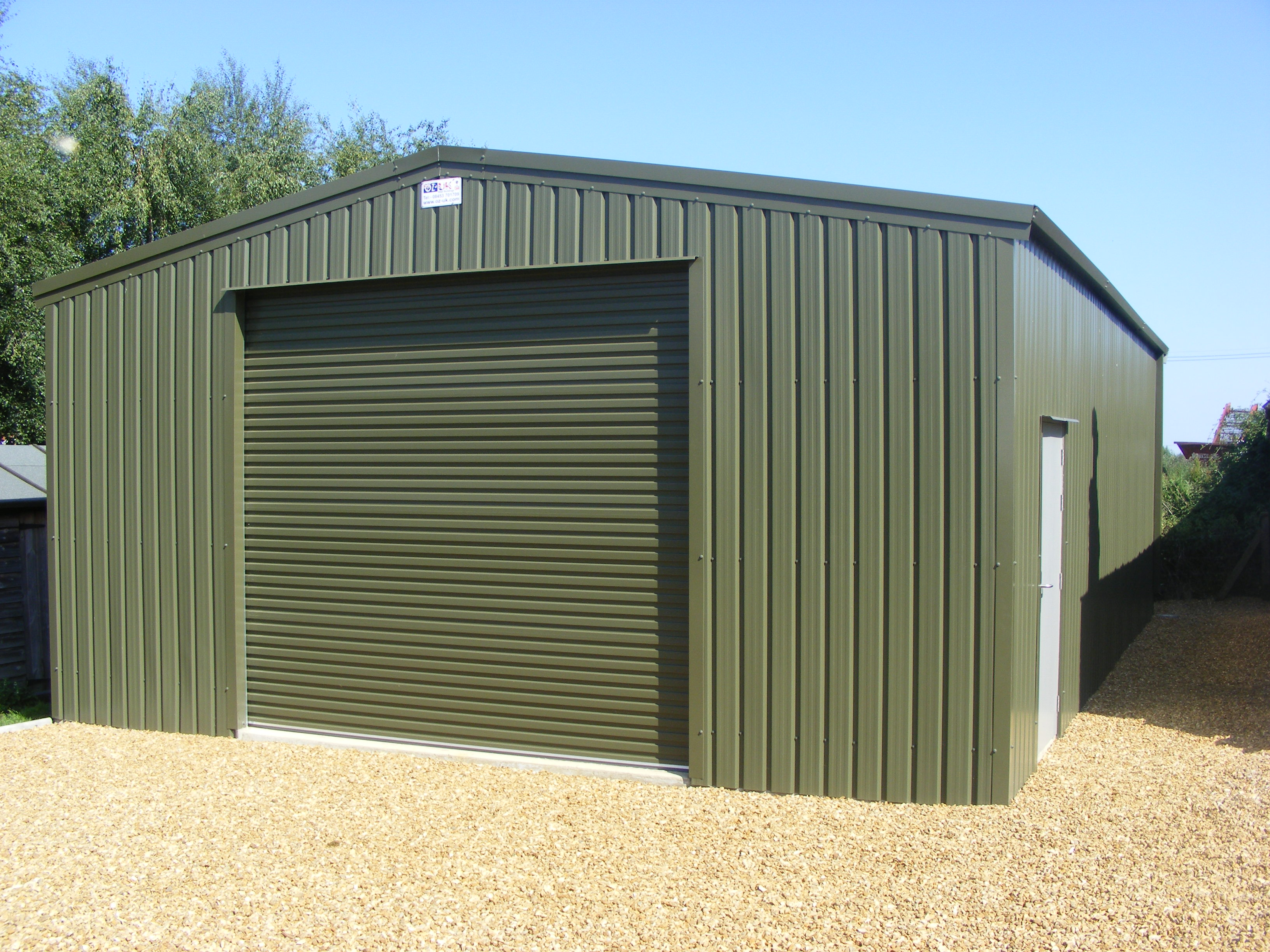 Steel Buildings and Garages From OZ-UK